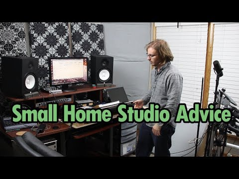 Bedroom Home Studio Setup & Ideas from My Layout