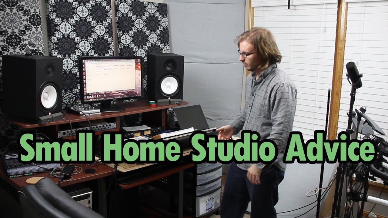 bedroom home studio setup ideas from my layout [ 1280 x 720 Pixel ]