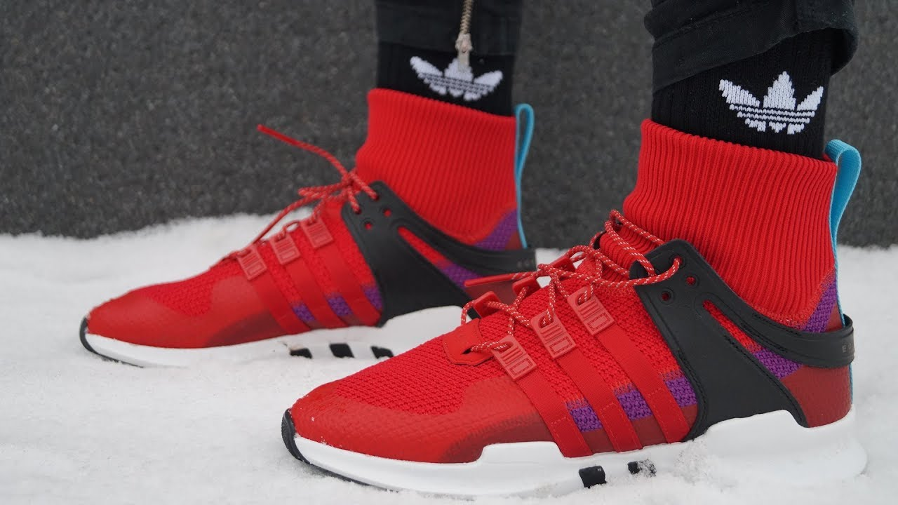 hot sale online 70bab 94311 Обзор кроссовок ADIDAS EQT SUPPORT ADV 'WINTER PACK'