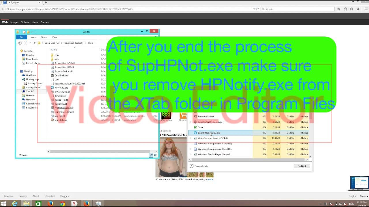download exe virus how to remove