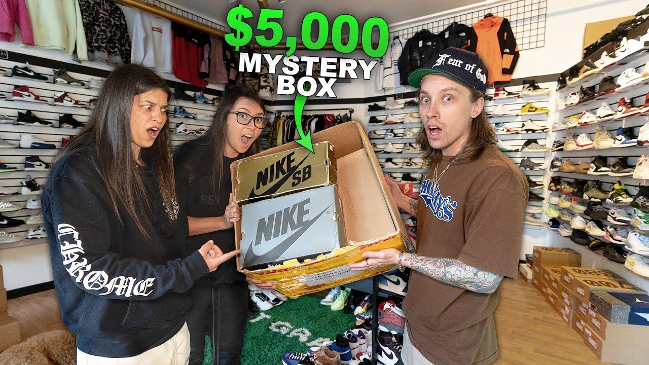 I Bought A $5,000 Sneak City Sneaker Mystery Box...