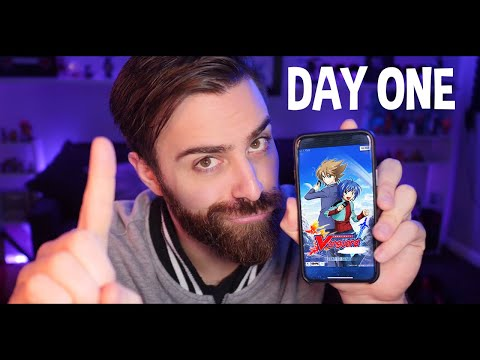 DAY ONE GUIDE! Rerolling And More! | Mobile Cardfight Vanguard ZERO W/ ShadyPenguinn