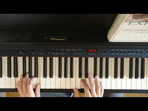 Trouble Coldplay Verse Piano Tutorial Youtube