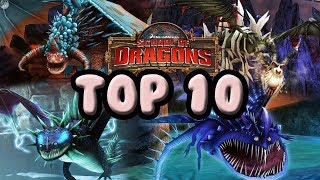 my top 10 favourite titan dragons school of dragons