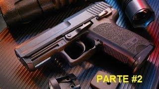 usp compact asg kwa umarex mantenimiento completo montaje y engrase parte 2 2