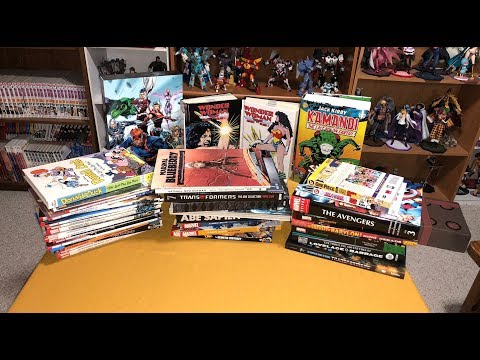 Comic Collected Edition Haul (Custom Binds, Omnibus, Hardcovers and TPBs) - March 2018