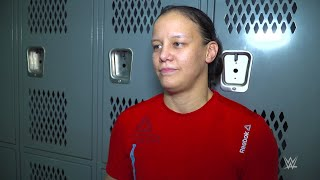 Shayna Baszler arrives to the WWE Performance Center