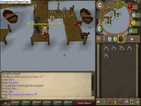 Runescape Big Shark Guide, Catching It, Getting It Stuffed And Mounted In Skill Hall