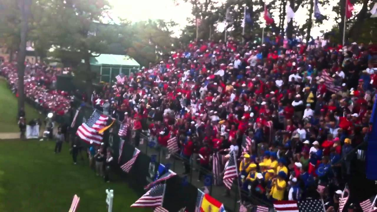 ryder cup medinah country club youtube