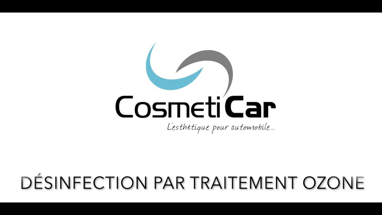 CosmétiCar, leader du lavage et de la désinfection auto présente son traitement OzoneTech