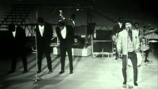 """James Brown performs """"Prisoner of Love"""" to a live audience on the TAMI Show."""