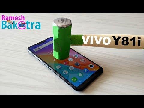 Vivo Y81i Screen Scratch Test