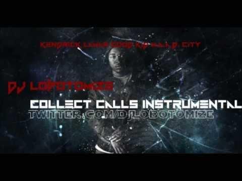 Kendrick Lamar - Collect Calls [HQ] Instrumental