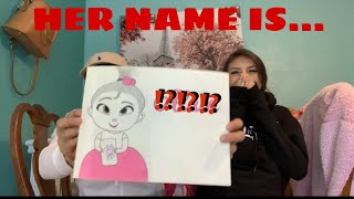 BABY NAME REVEAL | BELLY UPDATE❤️