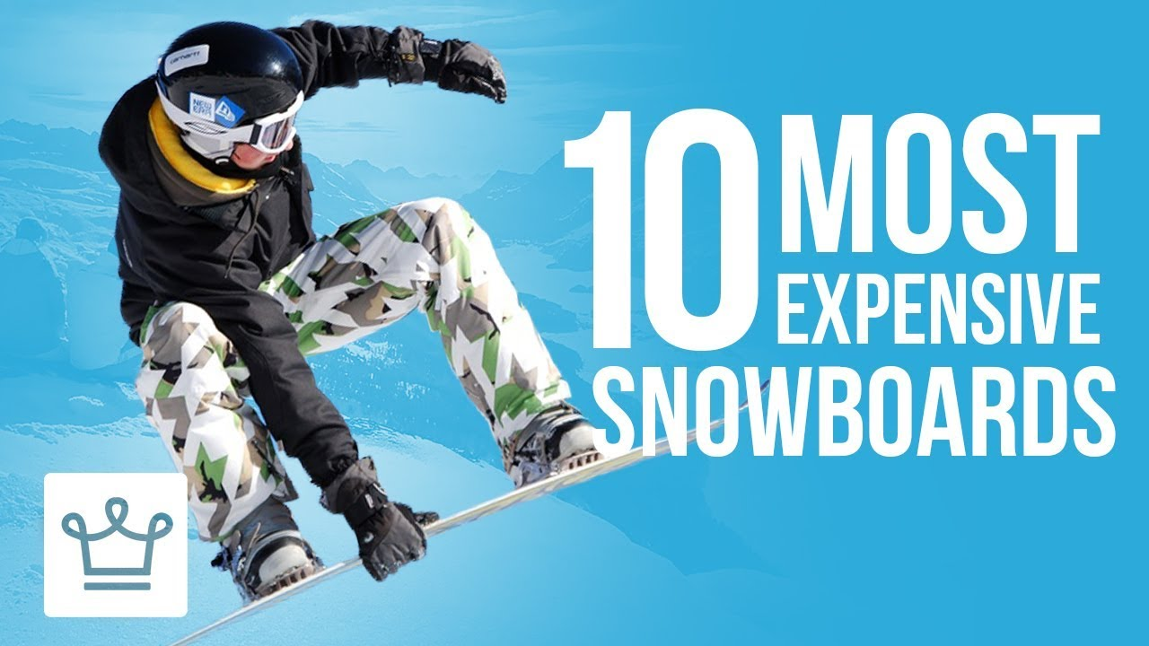 36140b1f5edfa Top 10 Most Expensive Snowboards In The World - YouTube