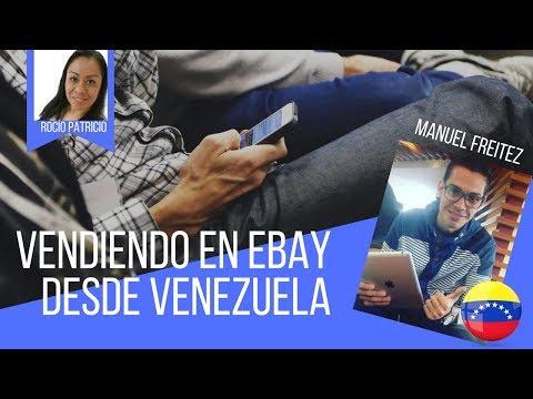 Vendiendo en eBay desde Venezuela con Manuel Freitez
