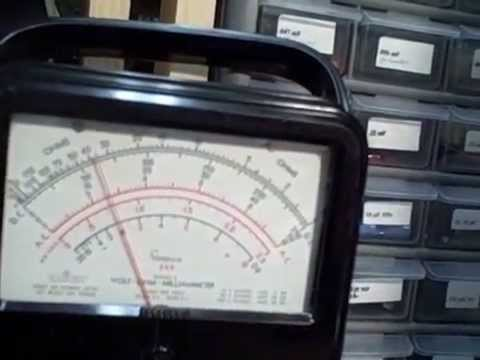 Simpson 260 Series 5 Multimeter Testing Youtube