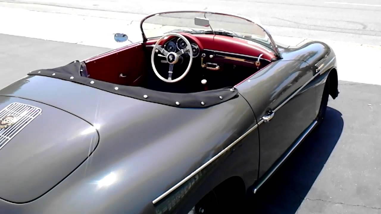 1957 porsche speedster 356 replica sold youtube. Black Bedroom Furniture Sets. Home Design Ideas