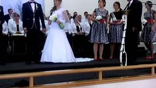 VID 20130929 110504 Окончание первой части  служения и начало благословения жениха и невесты Гречкос