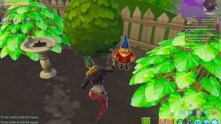 Daily Missions- Destroy 3 garden gnomes in Save the World (Fortnite) :D