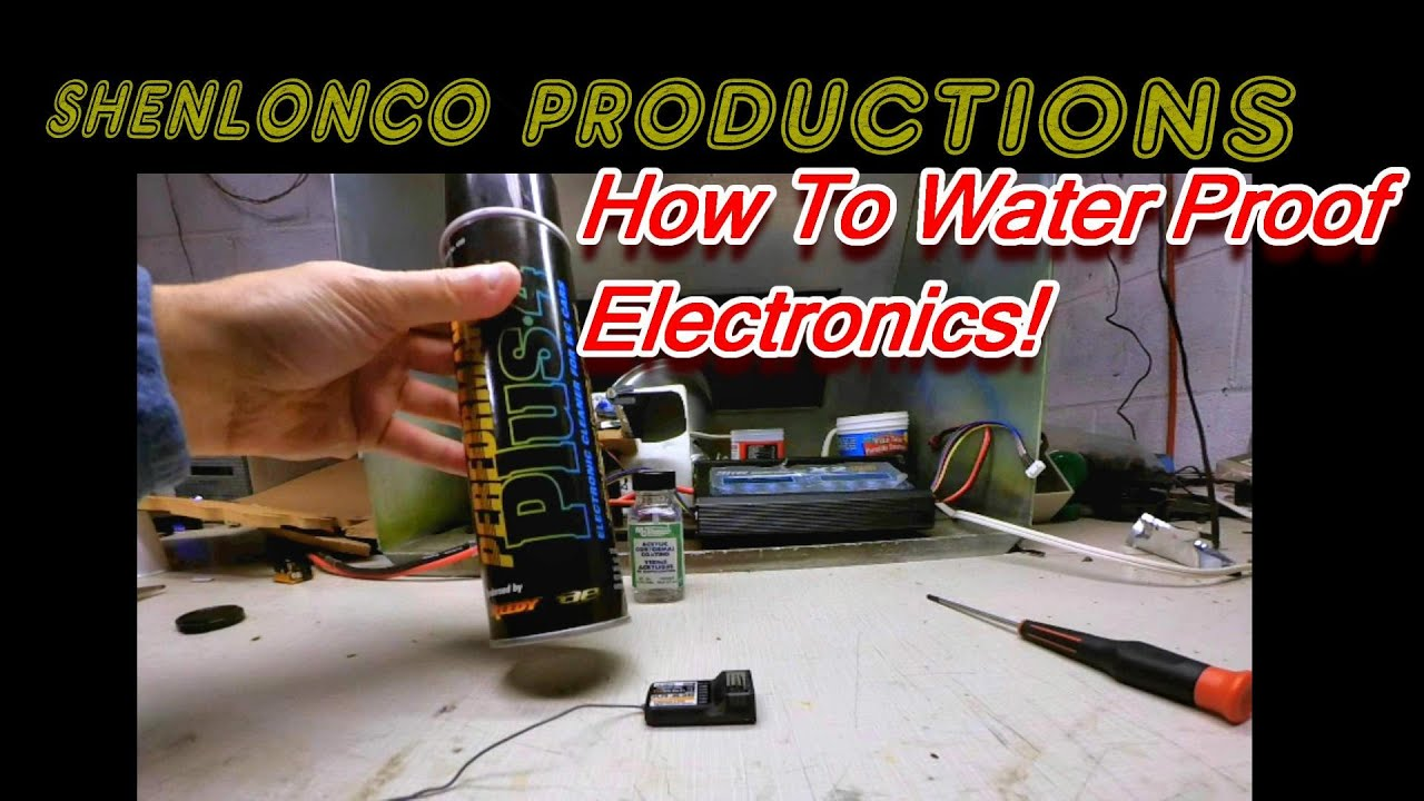 Water Proof Rc Electronics With Acrylic Lacquer Conformal Coating