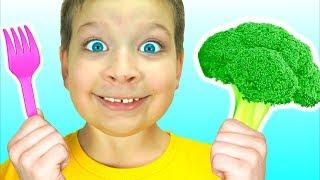 Sí Sí Verduras Canción - Canción Infantil   Canciones Infantiles con Max