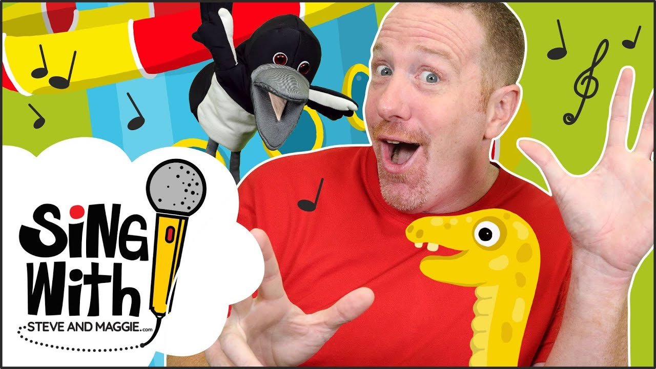 Let's Play Playground Tag Game   Songs for kids   Sing with Steve and Maggie