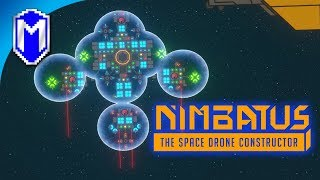 THE ULTIMATE DRONE - Automatic Planet Clearing Drone - Nimbatus - The Space Drone Constructor