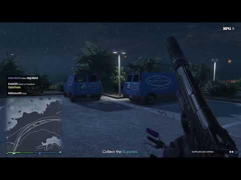 GTA V First Person Supply Run - Express Coming Through