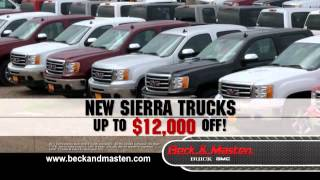 Spring Clearance Event - Beck and Masten Buick GMC