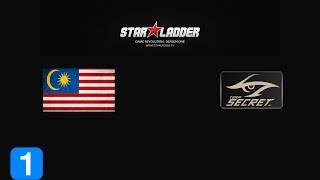 Highlights TeamMalaysia vs Team Secret - StarLadder 12