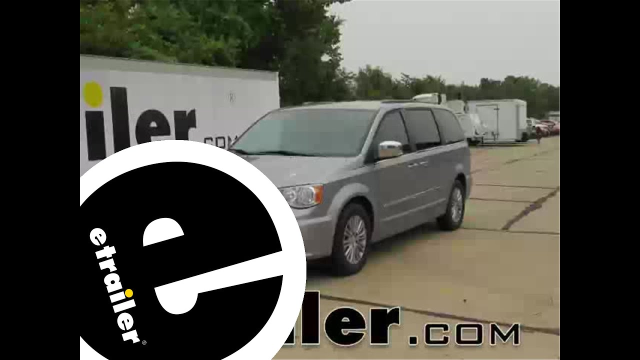 medium resolution of trailer wiring harness installation 2015 chrysler town and country etrailer com