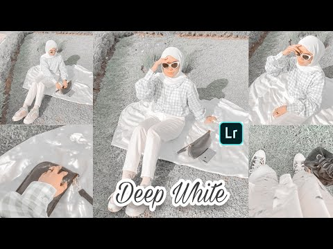 Tutorial Edit Foto Ala Selebgram Filter Deep White | LIGHTROOM TUTORIAL