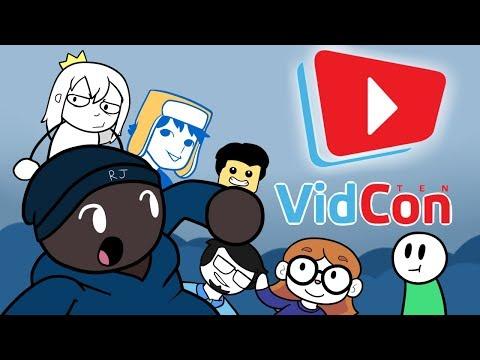 Meeting Animators At VidCon 2019 (1st Trip)