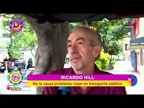 ¿Qué orilló a Ricardo Hill a vender su automóvil? | Sale el Sol