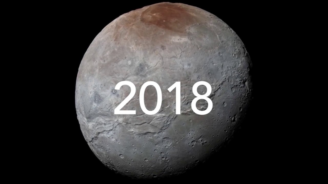 Discovery Of Pluto: NASA Charon At 40 The Discovery Of Pluto's Largest Moon