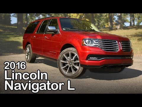 2016 Lincoln Navigator L Review: Curbed with Craig Cole