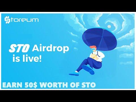 Storeum Airdrop (STO) - Получите 50$ в токенах STO / Криптовалюта бесплатно / Crypto Free