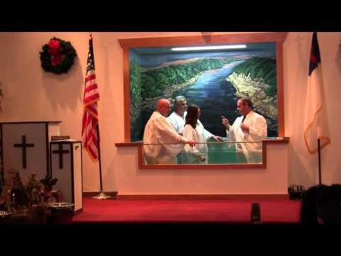Sunday, December 22, 2013 – Baptisms