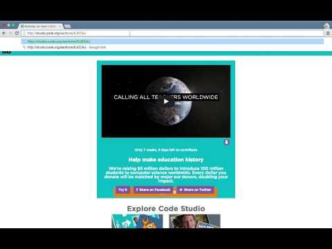 code.org - kom igång