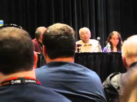 Joe Simon (Creator of Captain America) at Comic Con 2011 (Last Public Appearance)