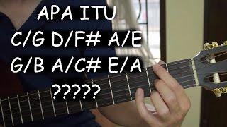 APA ITU C/G D/F# A/C# ??? (Slash Chord)