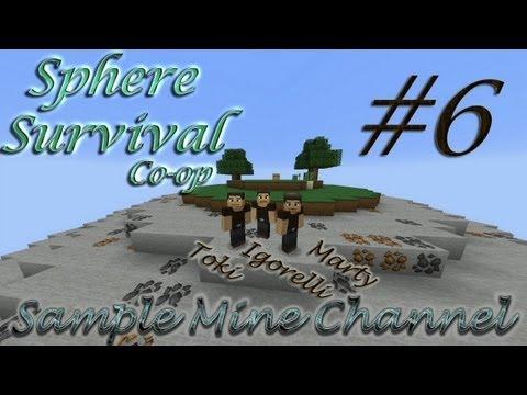 Скачать карту sphere survival на майнкрафт