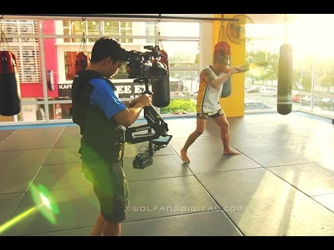 Sony PMW300 with Steadicam Pilot Review