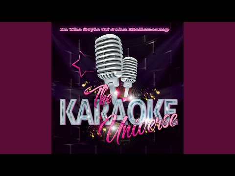 Authority Song (Karaoke Version) (in the Style of John Mellencamp)
