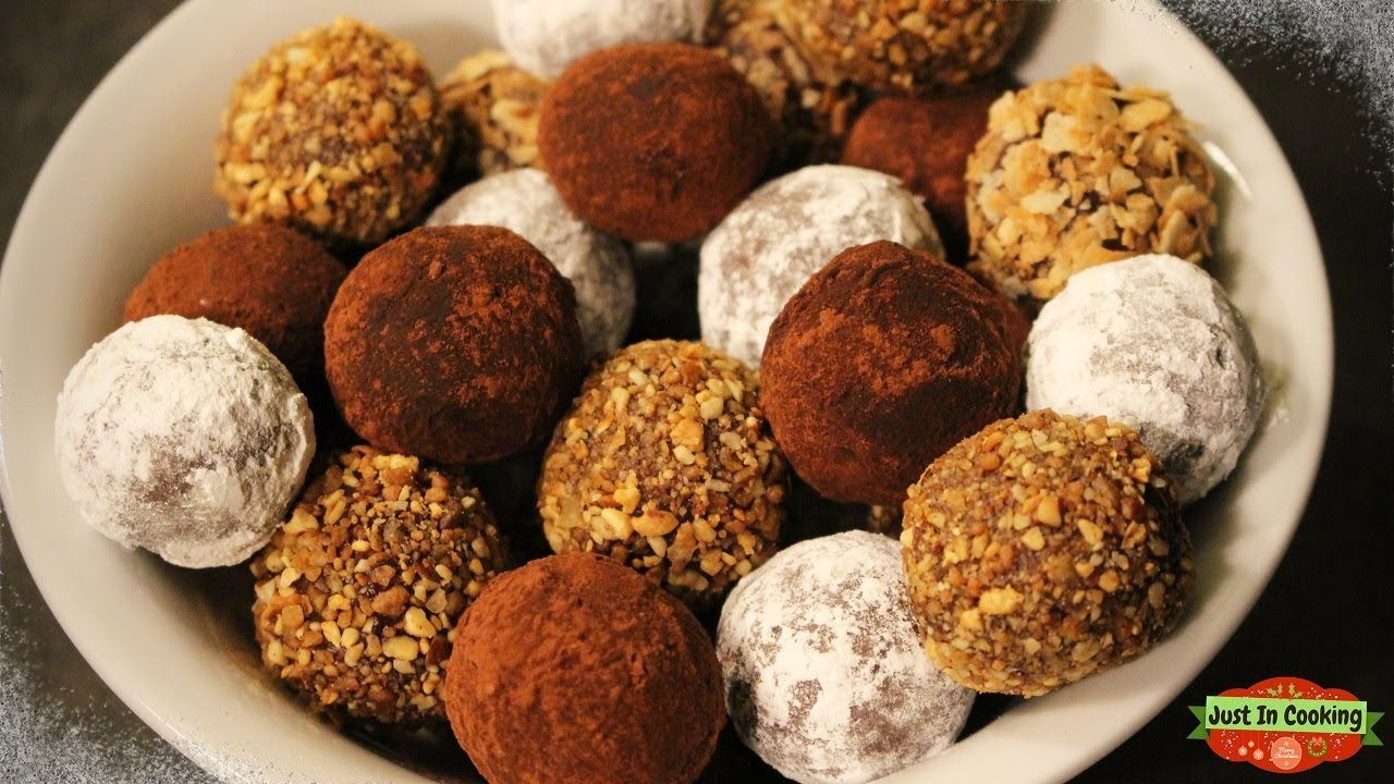 recette de truffes au chocolat noir pour les f tes youtube. Black Bedroom Furniture Sets. Home Design Ideas