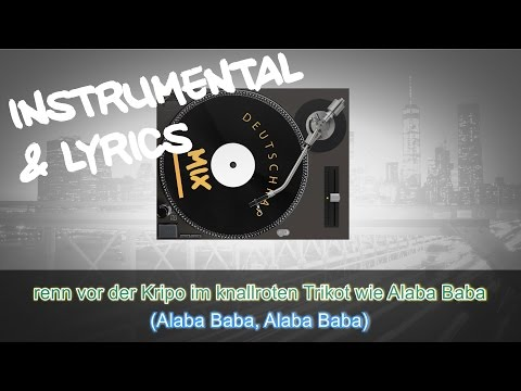 CAPITAL BRA Ft. UFO361 - ALA BA BA  INSTRUMENTAL + LYRICS (KARAOKE BEAT REMAKE)