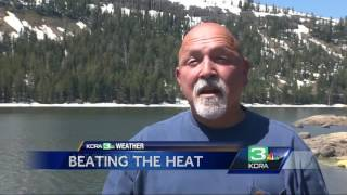 Want to beat the heat? Head east to this cool Sierra lake