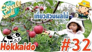 เด็กจิ๋วเที่ยวสวนผลไม้ เก็บแอปเปิ้ลกินไม่อั้น อร่อยที่สุดในโลก (Hokkaido #32)