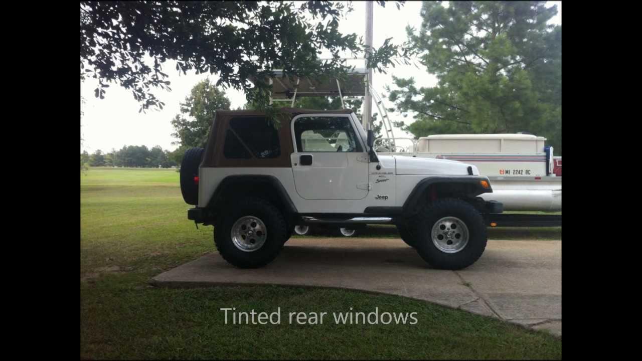 2001 Jeep Wrangler Skyjacker Lift Kit Youtube